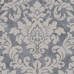 Diamonds Glitter Damask Wallpaper Charcoal/Grey