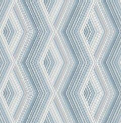 Aura Geo Wallpaper Blue