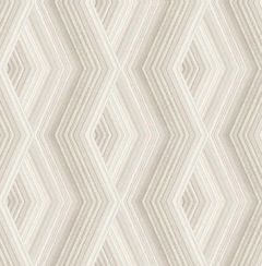 Aura Geo Wallpaper Beige