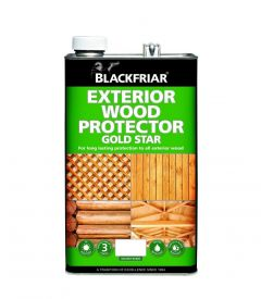 Blackfriar Exterior Wood Protector Gold Star