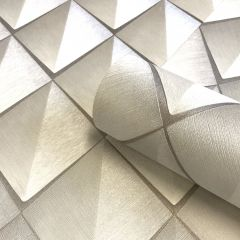 Callisto Luxury Ivory & Taupe Wallpaper