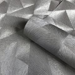 Caprice Luxury Wallpaper Charcoal