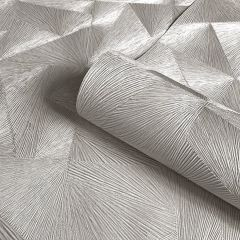 Caprice Luxury Wallpaper Silver