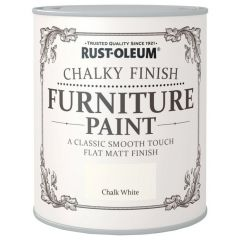 Rust-Oleum Chalky Finish Furniture Paint-Chalk White