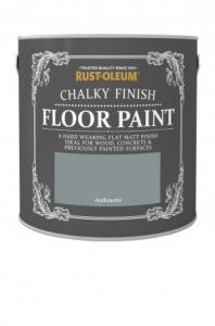 Chalky Finish Floor Paint Anthracite