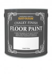 Chalky Finish Floor Paint Chalk White