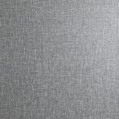 Country Plain Linen Wallpaper-Charcoal