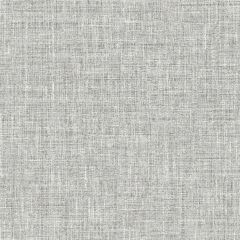 Country Plain Linen Wallpaper-Grey