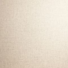 Country Plain Linen Wallpaper Cream