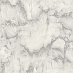 Crown Aura Marble Design Wallpaper - Silver