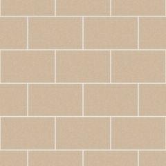London Tile Glitter Wallpaper Stone