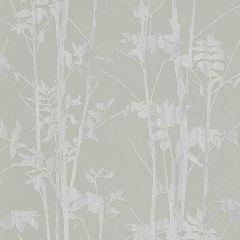 Erismann Plain Branches Wallpaper Taupe