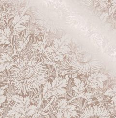 Sandringham Floral Metallic Wallpaper Rose Gold