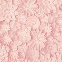 Dimensions Floral 3D Wallpaper Rose Pink
