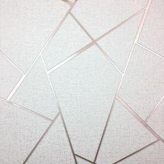 Quartz Fractal Wallpaper Rose Gold