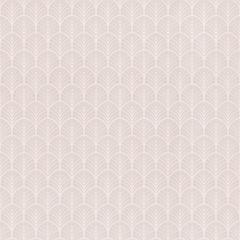 Myriad Scintille Scallop Wallpaper Silver & Rose Gold