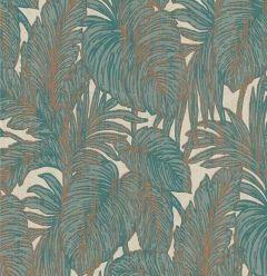 Hacienda Botanical Leaf Wallpaper