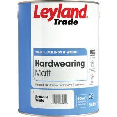 Leyland Trade Hardwearing Matt Paint