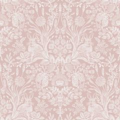 Harlen Woodland Wallpaper Coral