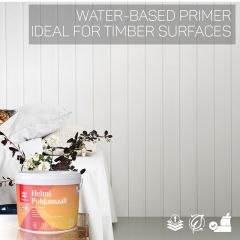 Tikkurila Helmi Water-Based Primer for Woodwork - Colour Match