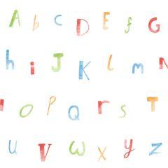 Alphabet Children's Wallpaper