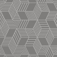 Astonia Geometric Stripe Wallpaper Charcoal