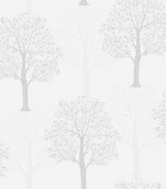 Opus Ornella Sequin Tree Wallpaper Silver