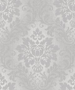 Fabric Damask Glitter Wallpaper