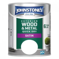 Johnstone's Exterior Wood & Metal Quick Dry Satin Paint