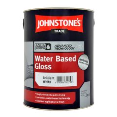 Johnstone's Trade Water Based Aqua Gloss Paint