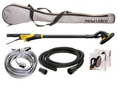 Mirka LEROS 950CV Wall & Ceiling Sander 225mm Dual Voltage Deco Solution Kit