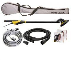 Mirka LEROS 950CV Wall & Ceiling Sander 225mm Dual Voltage Deco Solution Kit