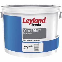 Leyland Trade Vinyl Matt-10L-Magnolia