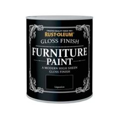 Rust-Oleum Gloss Finish Furniture Paint Liquorice