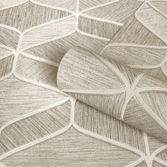 Luciano Pattern Beige Wallpaper