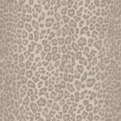 Glitter Leopard Fur Wallpaper Natural