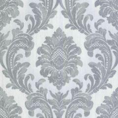 Milano Glitter Damask  Wallpaper Grey