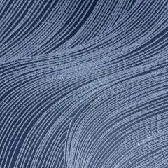 Orla Wave Glitter Wallpaper Navy Blue