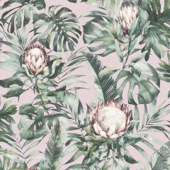 Nia Botanical Wallpaper - Dusky Pink