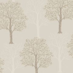 Opus Ornella Sequin Tree Wallpaper taupe
