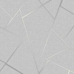 Quartz Fractal Wallpaper Silver