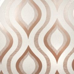 Quartz Geo Wallpaper Rose Gold
