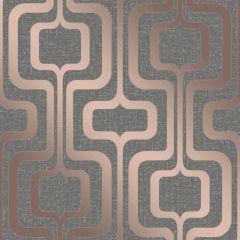 Quartz Retro Glitter Wallpaper Charcoal