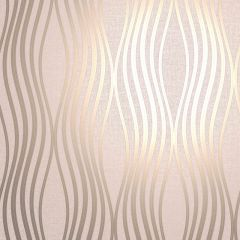 Quartz Wave Glitter Wallpaper Dusky Pink