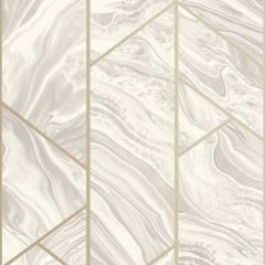 Geo Marble Glitter Wallpaper Natural