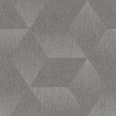 Aura 3D Effect Geometric Wallpaper Grey/Silver