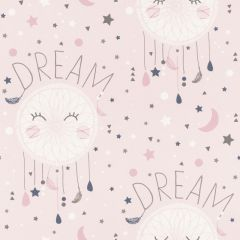Rasch Bambino Dreamcatchers and Stars Wallpaper - Pink