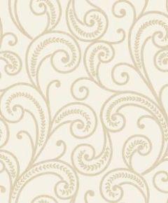 Astoria Scroll Wallpaper Cream
