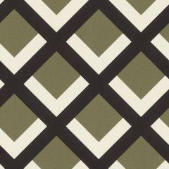 Retro Geometric Grid Wallpaper Khaki