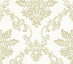 Rosemore Hampton Damask Wallpaper Cream